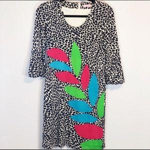 Lilly Pulitzer Angie silk caterpillar shift dress